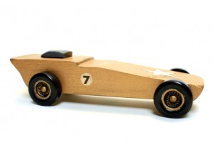 Lessons learned from a pine wood racing car
