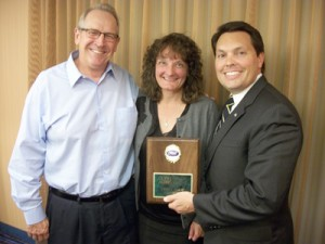 Pictured left-to-right in the attached photo are: Larry and Becky Raney (Print & Copy Factory) and Todd Nuckols (CPrint® President).