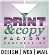 Print & Copy Factory Logo