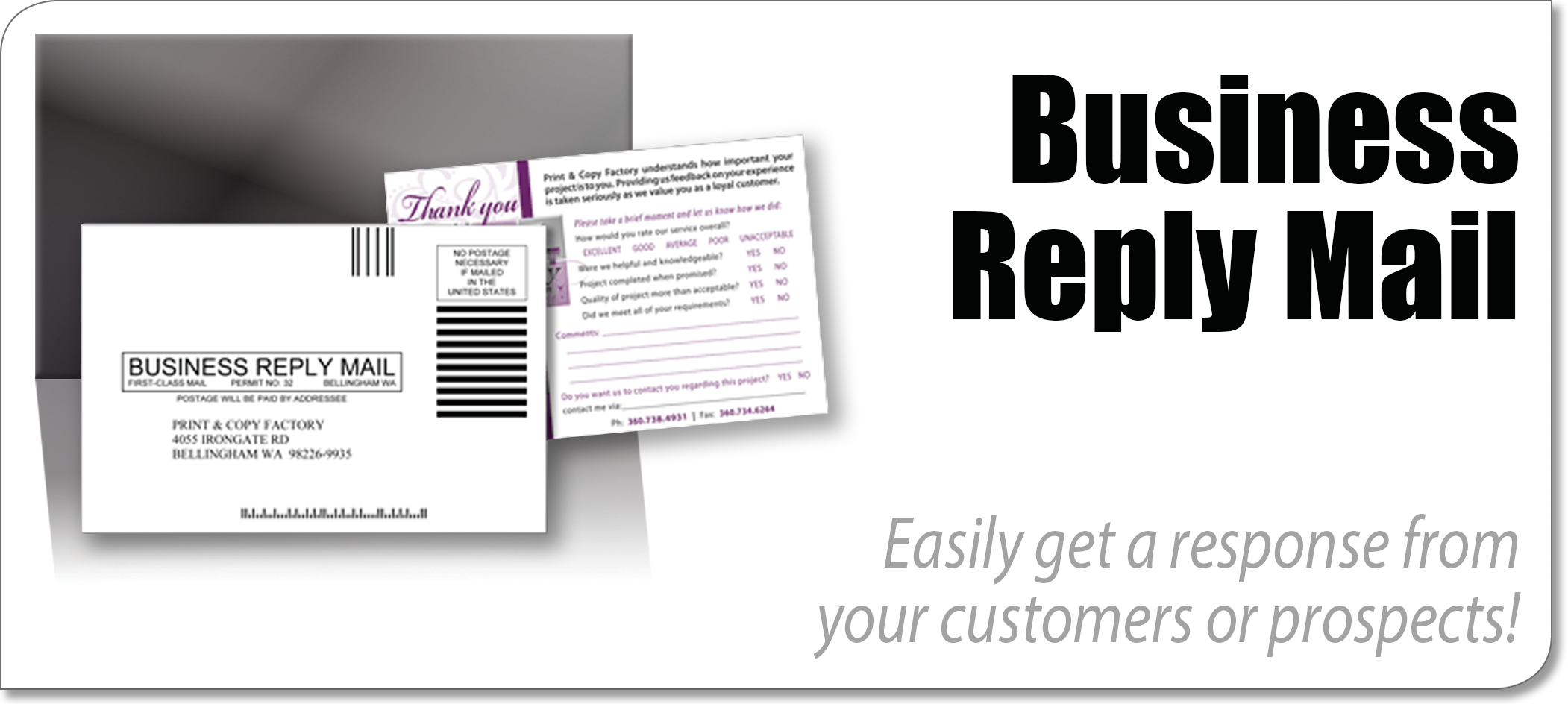 Business Reply Cards Information