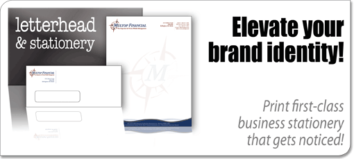 stationery and business letterhead