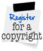 register your copyright for your book today!